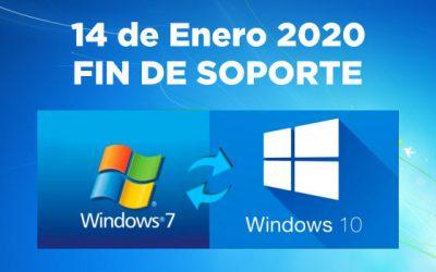 Fin de soporte de Windows 7: qué significa que sólo le quede un año de parches de seguridad ?